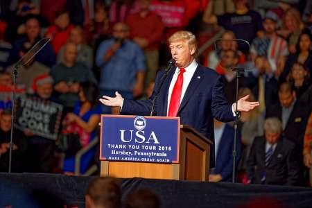 Trump ist nicht gegen die Zweistaaten-Lösung. Zumindest nicht in jedem Fall