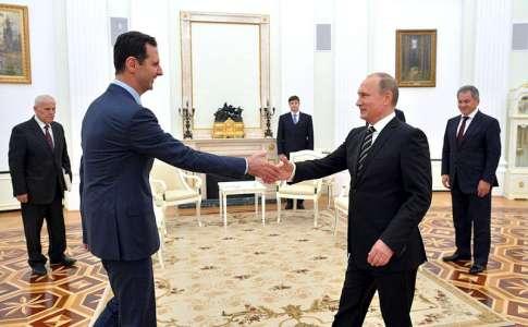 Fünf Gründe, warum Moskau im Syrien-Krieg mitmischt
