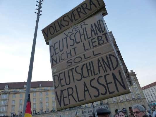 Deutschland kehrt zurück zum Fremdenhass der 1930er