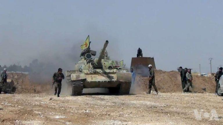 Kurden sterben durch deutsche Panzer