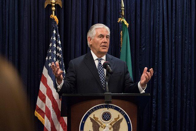 Der Perspektivwechsel am Morgen: US-amerikanischer Außenminister Tillerson entlassen