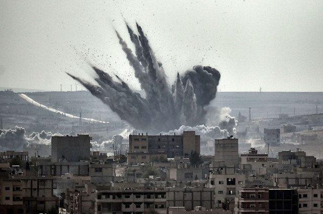 Der Perspektivwechsel am Morgen: Raketenangriff auf Syrien