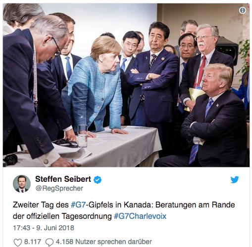 Pressebilder vom G7-Gipfel verzerren unsere Wahrnehmung