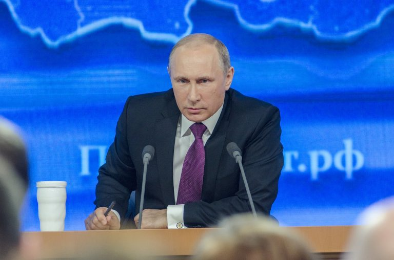 Machtmensch Putin? Der russische Präsident hat Angst