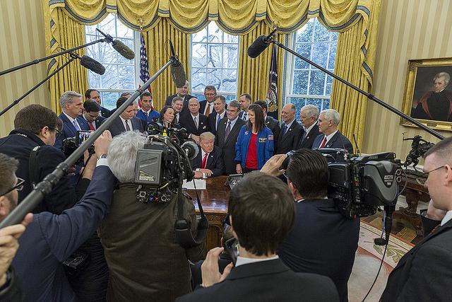 Die Medien verzerren die Wirklichkeit: Trump ist ein guter Präsident