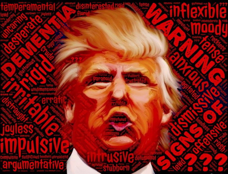 Trumps Außenpolitik ist genauso narzisstisch, gefährlich und verrückt wie er selbst