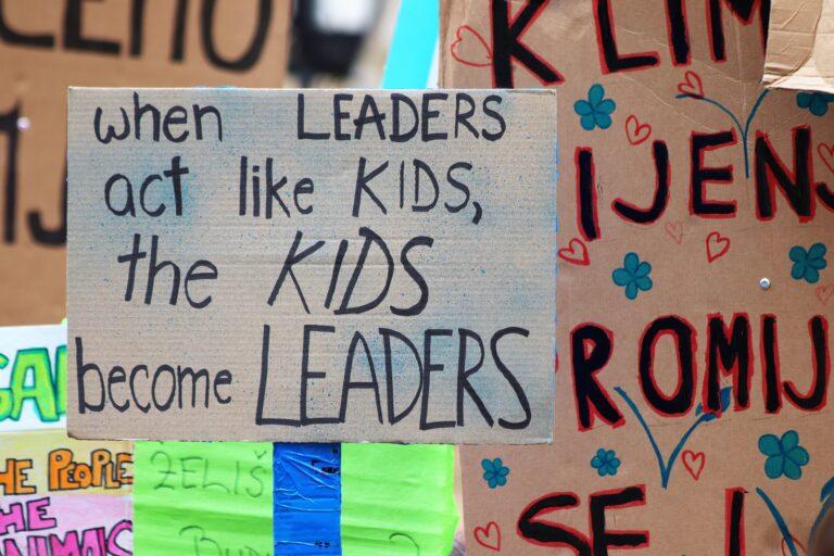 Diese Kinder tun, was wir alle tun sollten: Für den Klimaschutz auf die Straße gehen