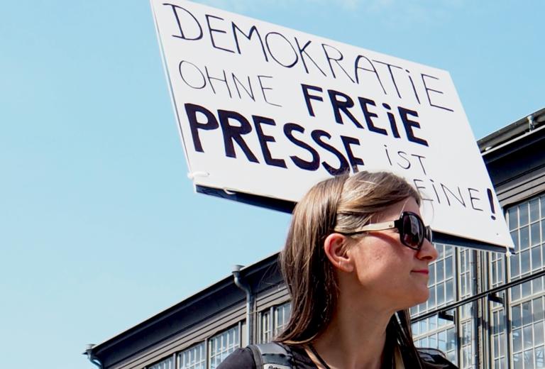 Pressefreiheit als Bundesliga-Tabelle