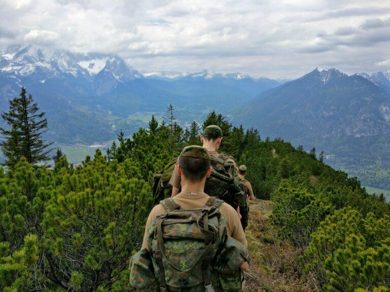 Die Wehrpflicht sollte wieder eingeführt werden